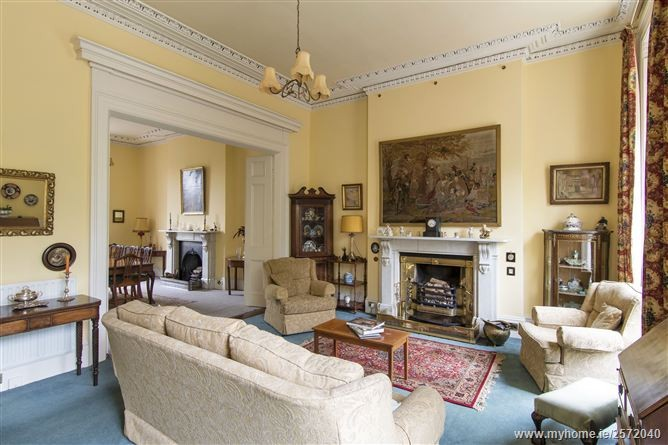 Living room, the Devenport house